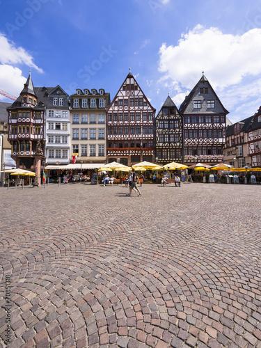 deutschland hessen frankfurt am main r merberg historische h user stockfotos und. Black Bedroom Furniture Sets. Home Design Ideas