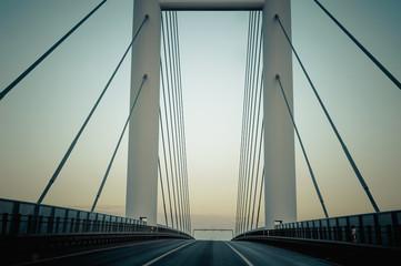 Deutschland, Mecklenburg-Vorpommern, Rügen-Brücke