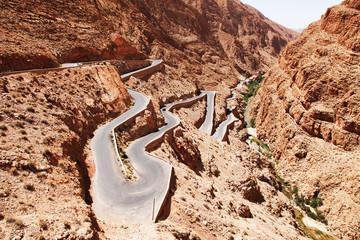 Keuken foto achterwand Marokko Tortuoso