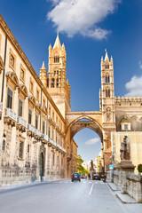Aluminium Prints Palermo Palermo Cathedral , Sicily, Italy.