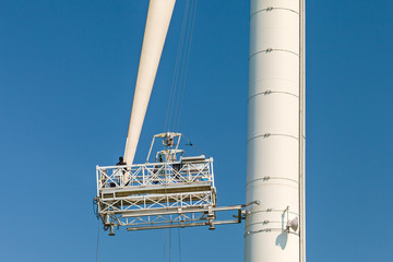 Maintenance of a wind turbine