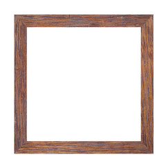 Picture frame of solid wood.