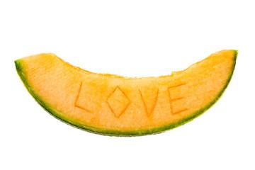 Slice of melon love
