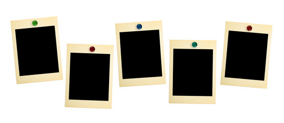 Retro photo cards