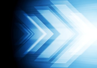 Abstract big arrow background