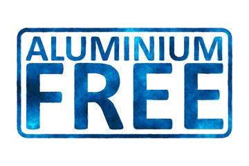 Aluminium free