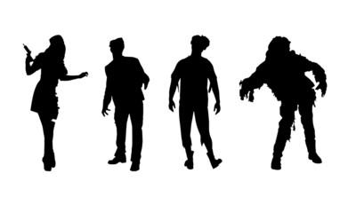 zombie halloween vector