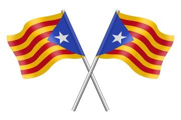 Banderas: Cataluña, Estelada blava