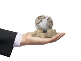 global deliver concept