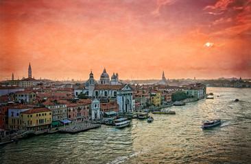 Venetian lagoon - Venice Italy