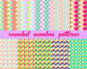Rounded Seamless Patterns