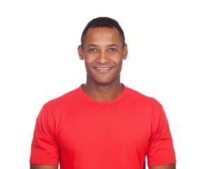Smiling casual latin man
