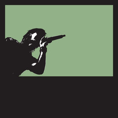 Singer polaroid