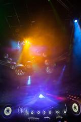 Disco light show, Stage lights