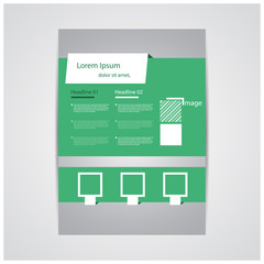 reative brochure / flyer design.