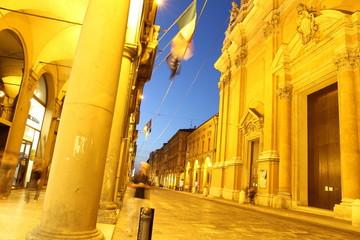 San Pietro church Via Independenza in Bologna Italy