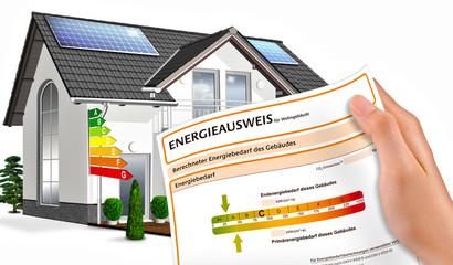 Eigenheim, Energieausweis, freigestellt