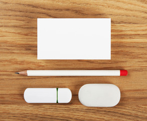 white elements of corporate identity