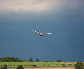 Rc plane and dark sky