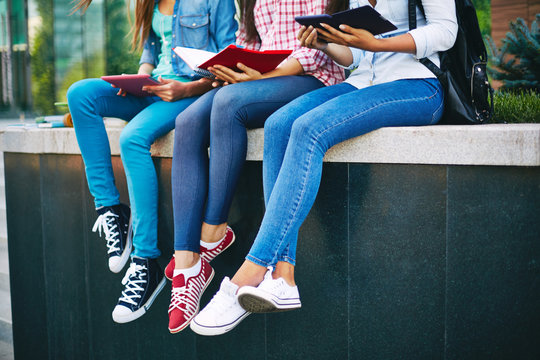 Legs of students