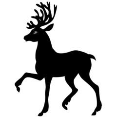 Beautiful Christmas deer
