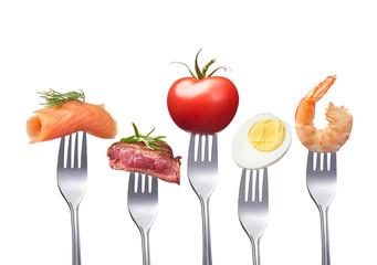 schmackhafte, gute ernährung