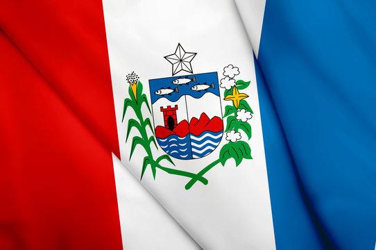 Flag of Brazil (Alagoas)