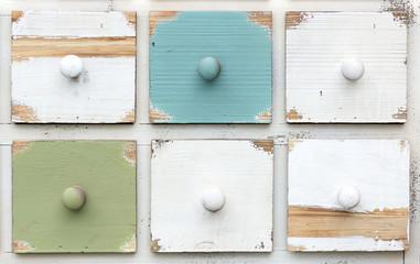 Fototapeta colored drawers obraz