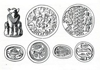 Minoan sealstones from Knossos and Messara