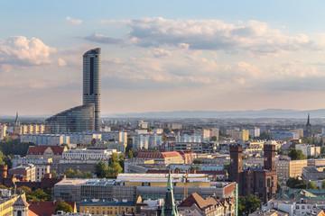 Sky Tower Wrocław Fototapete