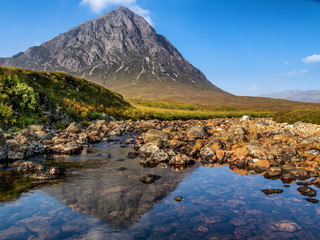Refelctions of Buachaille Etive Mor