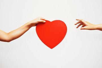 愛情を受け取るイメージ