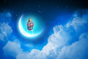 Dreaming at night