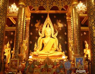 Phra Phuttha Chinnarat, Phra Si Rattana Mahathat temple