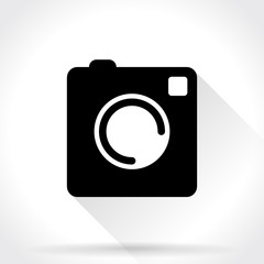Photo Camera Sign, Icon