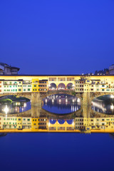 Wall Mural - Ponte Vecchio in Florence