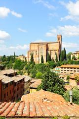 Wall Mural - View of Siena
