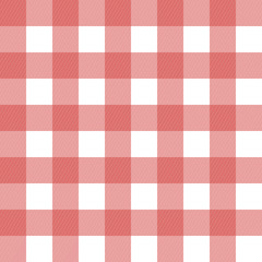 seamless classic red and white linen background, tablecloth
