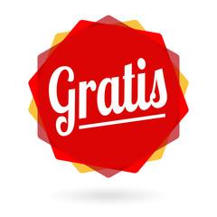 Gratis - Free - Gratuit