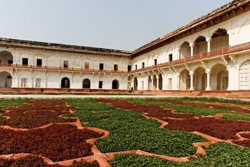 Jardin du fort d'Agra,Rajasthan, Inde