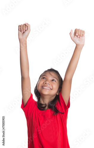free photo of girls raising hands № 21251