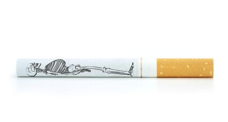 Smoking kills. Conceptual image.