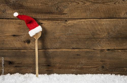speisekarte oder men karte zu weihnachten hintergrund. Black Bedroom Furniture Sets. Home Design Ideas