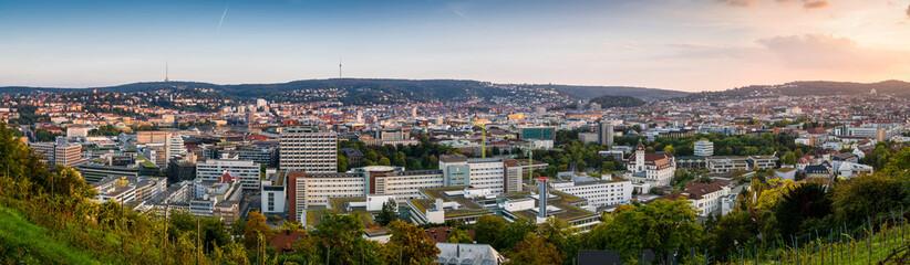 Panorama Stuttgart Wall mural