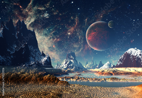 planets and stars - HD