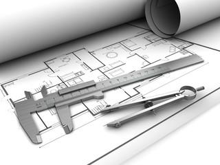 blueprints and tools