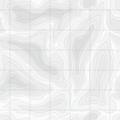 Seamless Light topographic topo contour map background
