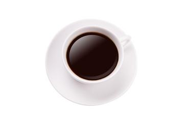 Kaffee Tasse schwarz