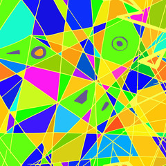 Abstract shapes and colors