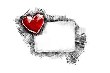 Heart Pancil 37